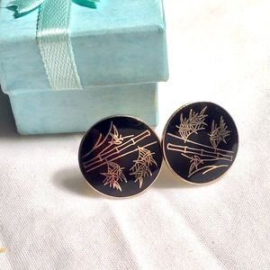 ❇️Vintage Enamel  Earrings